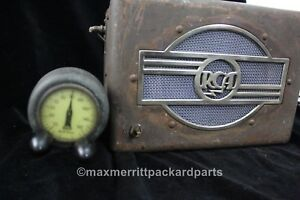 1930 s Rca Victor Automotive Radio Head And Box