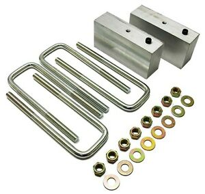 1947 55 Chevy Truck Gmc 3100 Truck 2 Lowering Block Kit For Stock Rear End
