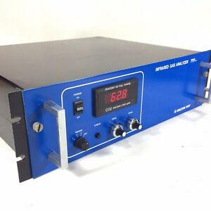 Milton Roy 3300a Co2 Infrared Gas Analyzer Range 400 800 1000 Used