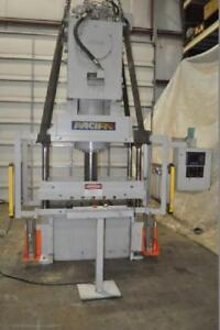 60 Ton Pacific 4 Post Hydraulic Press 60 Cx 50 30 20 Stroke 25 Daylight