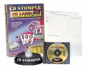 Cd Stomper Pro Labeling System Brand New Free Shipping