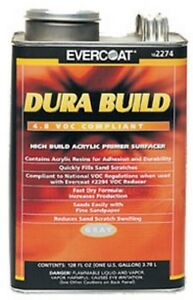 Dura Build 1 quart gray Fib 2273 Brand New