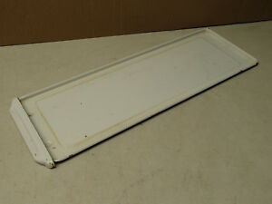 Vintage Antique Porcelain Steel Roper Stove Crumb Tray