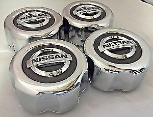 4x New Nissan Pathfinder Frontier Wheel Center Hub Caps Oem 40315 89p15 Silver