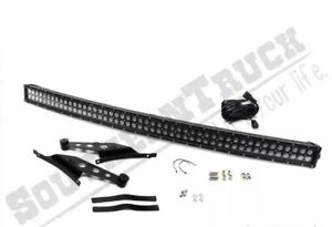 50 Led Curved Light Bar Combo Kit Fits Ram 1500 2500 3500 Southern Truck 79004
