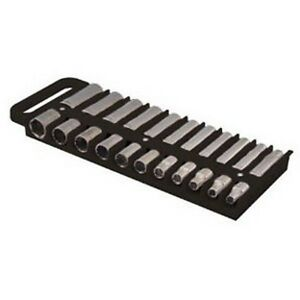 Large Magnetic 1 2 Socket Tray Black Lis 40990 Brand New