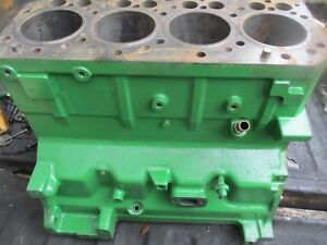 2002 John Deere 6420 Diesel Tractor 4 Cylinder Engine Block Free Shipping