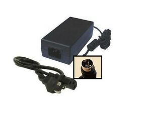 Ncr Realpos Pos Receipt Printer 7167 1025 Power Supply Ac Adapter Cord Charger