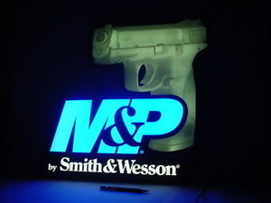 Smith Wesson M P Dealer Led Lighted Sign