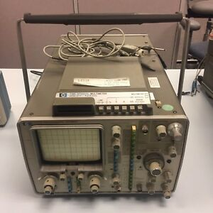 Hp 1725a Oscilloscope 275mhz Time Interval Multimeter
