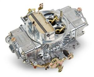 Holley 0 4781s Double Pumper Carb Shiny 4 Bbl 850 Cfm Mechanical Secondary