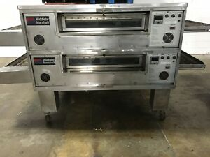 Middleby Marshall Ps570s Ps570 Double Stack Conveyor Pizza Oven Natural Gas