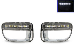 Bumper Led Daytime Running Drl Trim For 2012 2015 Mini Cooper Countryman S R60