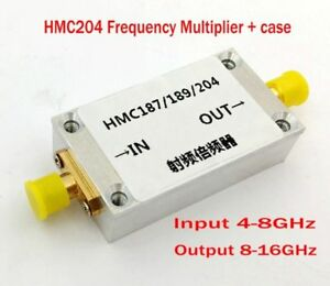 New Hmc204 Frequency Multiplier Input 4 8ghz Output 8 16ghz Frequency Doubler