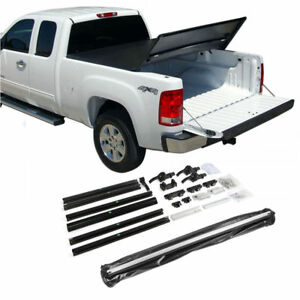 Fit 2005 2015 Toyota Tacoma 6ft 72 Bed Tri Fold Soft Tonneau Cover Assemble