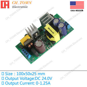 Ac dc 24v 1 25a 30w Power Supply Buck Converter Step Down Module High Quality Us