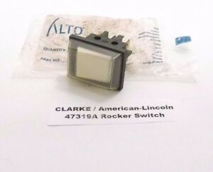 Clarke American lincoln 47319a Rocker Switch Dpdt Prepaid Shipping