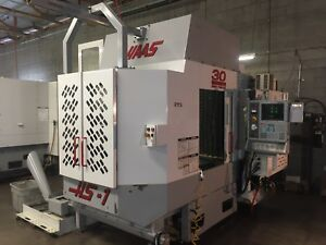 2001 Haas Hs1rp Cnc Mill Pallet Changer Horizontal Milling Full 4th Axis Ec400 4