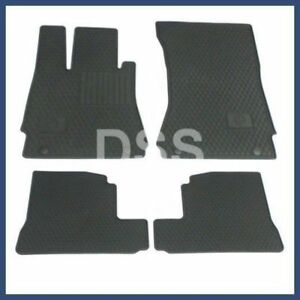 Genuine Mercedes S Class Factory Oem Accessory Rubber Floor Mats 07 13 Black