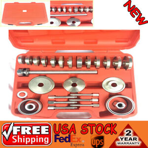 Universal Car Wheel Bearing Removal Installation Tool Set 31pc Front wheel Drive