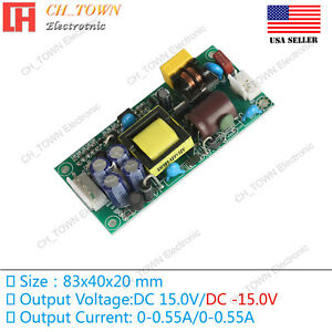 Double Road 15v 17w Switching Power Supply Buck Converter Step Down Module