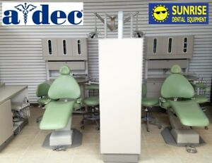 Adec 3 Operatory Dental Office Package Cabinets Chairs Lights X ray Stools