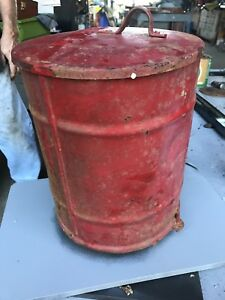 Vintage Moline Planter Seeder Hopper Box With Cover And Planter Plates Working