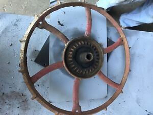 Vintage Moline Planter Wheel 21 Diameter