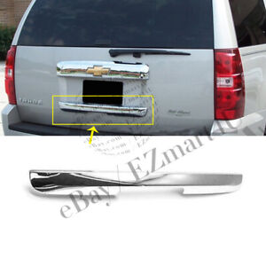 Fit 2007 2010 2011 2012 2013 Chevrolet Tahoe Chrome Lower Tailgate Handle Cover