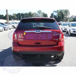 Fit 2010 2014 Ford Edge Chrome Rear Trunk Streamer Tailgate Cover Trim Logo Cut