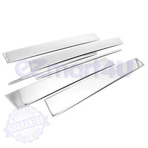 Chrome Pillar Post Fit 2010 2011 2012 13 14 2015 2016 2017 Gmc Terrain 6pc