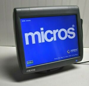 Micros Pos Terminal Stand Ws 5 Res 3700 9700 E7 1 Year Warranty