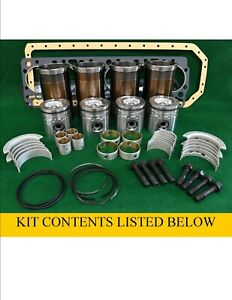 Rp944166 International D206 Inframe Engine Rebuild Kit 584 585 595 2500 Td7
