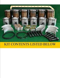 Rp233 John Deere 619 Turbo Mid Overhaul Engine Rebuild Kit 8450 8630 8640 5730