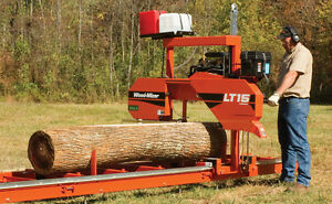 Wood mizer Lt15 Portable Sawmill Bandsaw 19hp