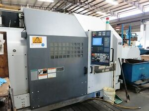 Mori Seiki Sl 803c Cnc Turning Center Lathe With 14 8 Spindle Bore