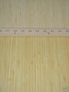 Bamboo Blonde Natural Wood Veneer Sheet 24 X 48 Paper Back 1 40 Thickness