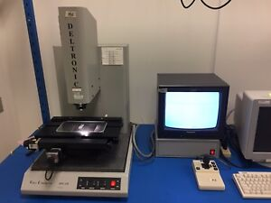 Deltronic Dvc120 Video Comparator Mpc 6 Measuring Machine