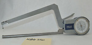 Dyer Wall Thickness Gage 0 05mm Long Reach