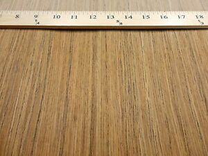 Teak Composite Wood Veneer 24 X 96 Raw No Backing 1 42 Thickness 2505