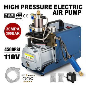 30mpa High Pressure Air Compressor Pump Rifle Electric Air Pump Pcp