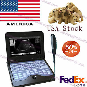 Vet Veterinary Portable Ultrasound Scanner Machine Cms600p2 7 5m Rectal Probe ce