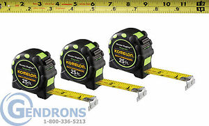 3 Komelon 7125ie Magnetic Tape Measure Surveying Engineering Topcon trimble