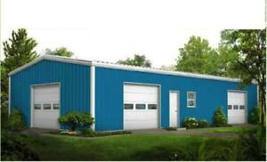 Steel Buildings 27 Wide Metal Buildings Free Shipping Local Installation Ava