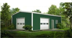 Steel Buildings 24 Wide Metal Buildings Free Shipping Local Installation Ava