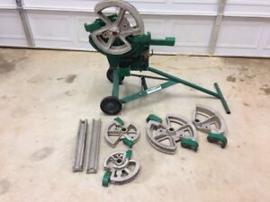 Nice Greenlee No 1818 Conduit Pipe Emt Rigid Imc Mechanical Bender