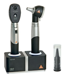 Diagnostic Set Heine Mini 3000 With F o Otoscope Ophthalmoscope Table Charger