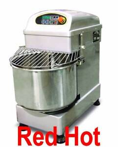 Fma Omcan 19194 Heavy Duty Spiral Pizza Dough Mixer 37 Qt 1 5hp Mx cn 0037