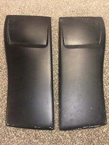 Orginal Oem Hood Blisters 82 92 3rd Gen Camaro Iroc Z28 Irocz Good Condition