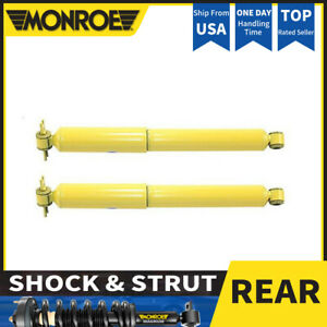Monroe 2 Rear Shock Absorber For 1994 2001 Jeep Cherokee